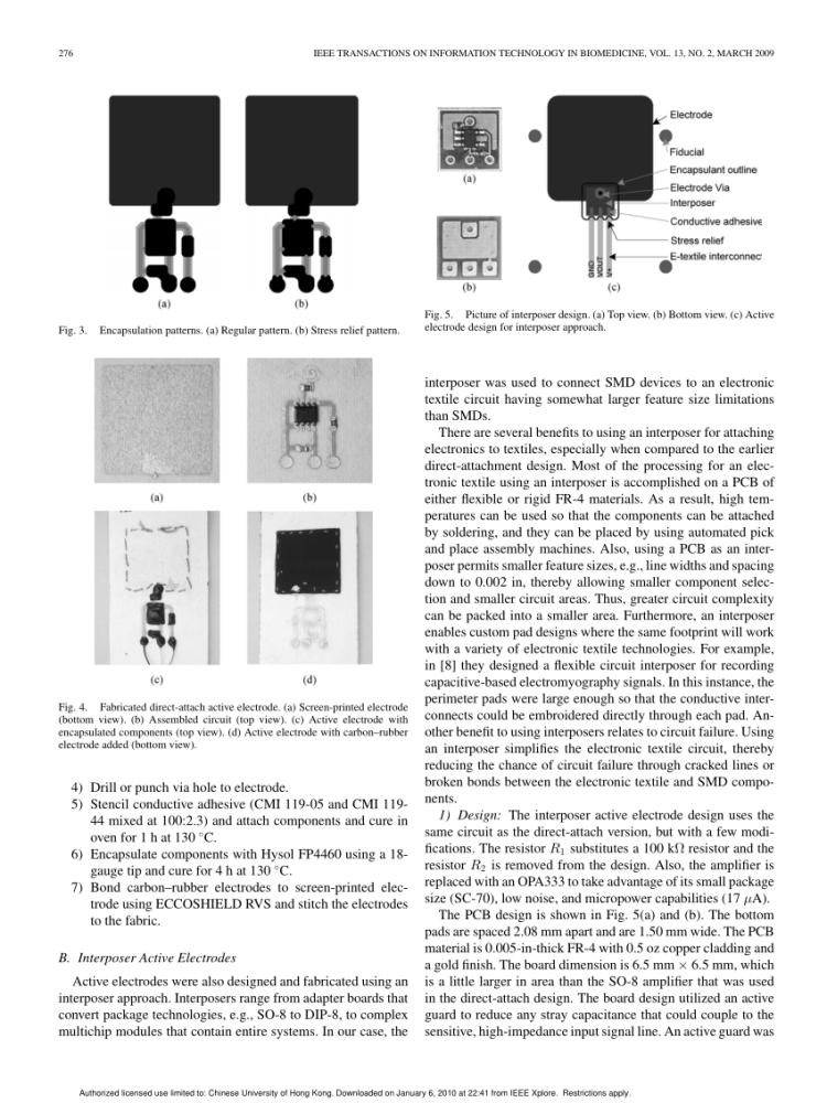 Capteur musculaire/Muscle sensor (3/6)